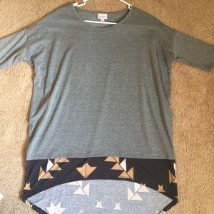 Lularoe Irma Tunic XS Unicorn Print